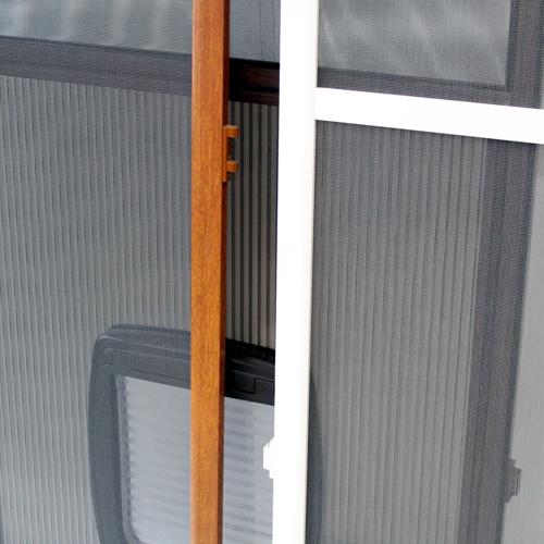 Gotowe moskitiery drzwi