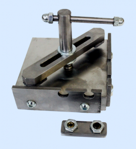 Tool for joining and riveting door profiles M-308